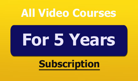 5 Years Online Subscription