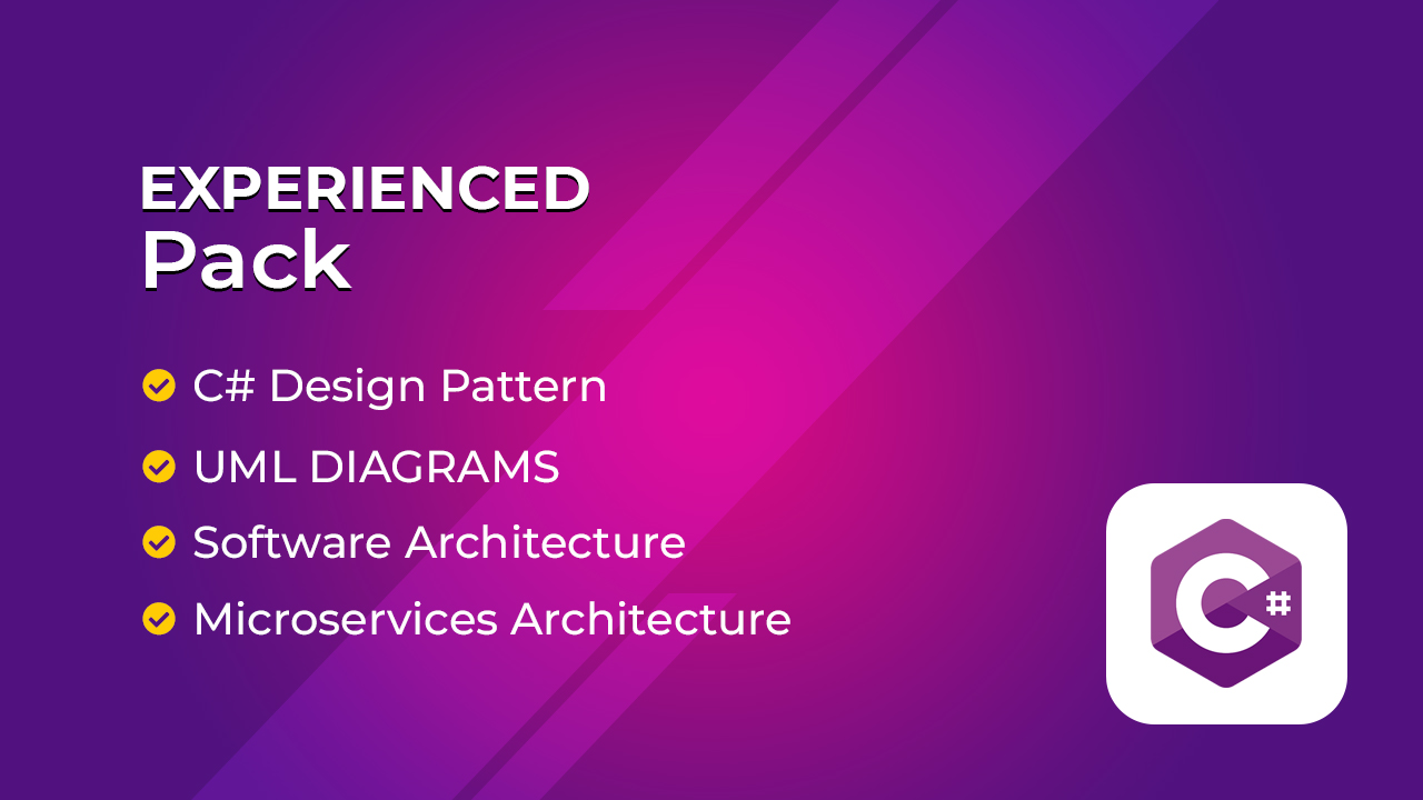 Learn C# Design Patterns, UML Diagrams, Software Architecture & MicroServices Architecture